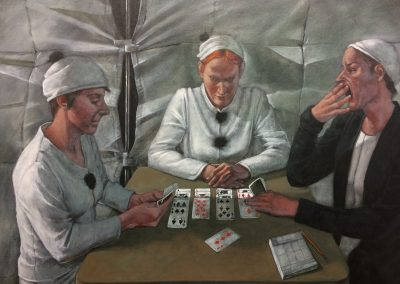 BW-P MWS The Card Players (No Trump)